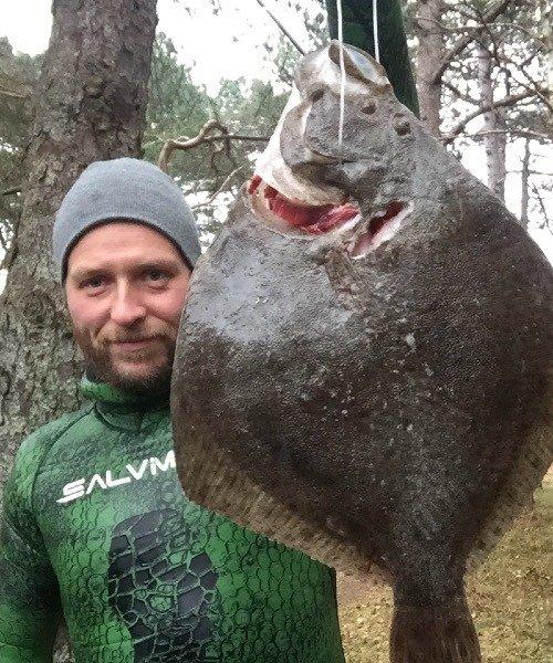 Pighvarre fanget af SuneRahbek ved Nordvestsjælland