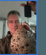 Pighvar fanget af Michael Hesselhof ved Svenborgsund