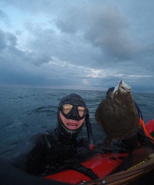 Pighvar fanget af FransBoeriis ved Langeland om dagen