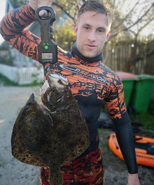 Første pighvar – Pighvar fanget af Torralvo ved Nordsjælland om dagen
