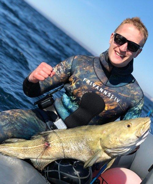 Fantastisk – Torsk fanget af SimonDK ved Øresund om dagen