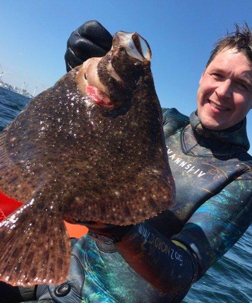 Flot dag! – Pighvar fanget af Morten Rosenvold Villadsen ved Øresund om dagen