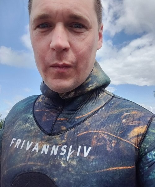 Dårlig sigt –  fanget af Morten Rosenvold Villadsen ved Helsingør Nordmole om dagen