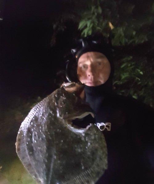 Sjovt – Pighvar fanget af JessB.Nielsen ved Sjælland