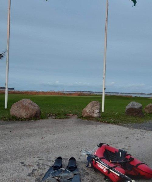 Første vinterskrubber – Skrubbe fanget af Christian SCH ved Isefjorden