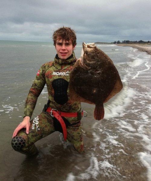 Koldt – Pighvar fanget af Dani459e ved Djursland