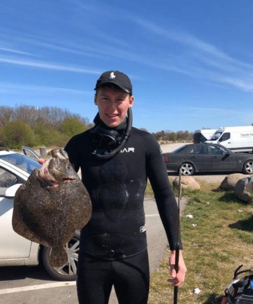 Flot – Pighvar fanget af mikkel-roerlund ved Køge bugt