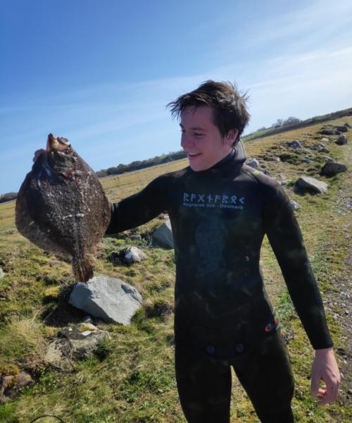 flot pighvar – Pighvar fanget af Matti-A. ved sydlig lillbælt