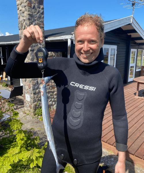 Lynhurtige Hornfisk – Hornfisk fanget af HeineBirkHansen ved Langeland