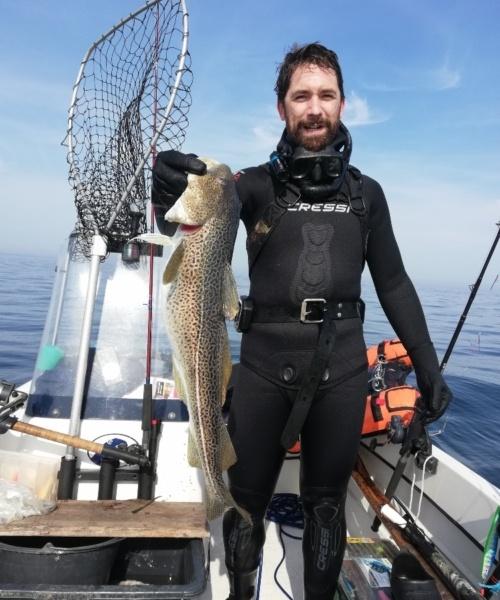 Mere fisk – Torsk fanget af Jonathan ved Ryggen