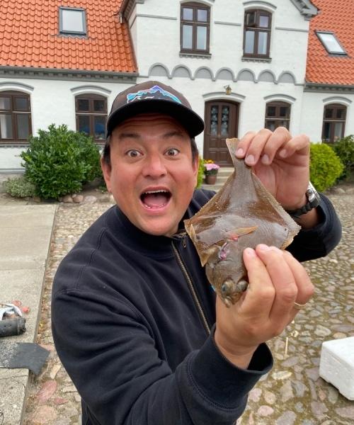 Langeland cup – Ising fanget af jesper kondo ved Langeland