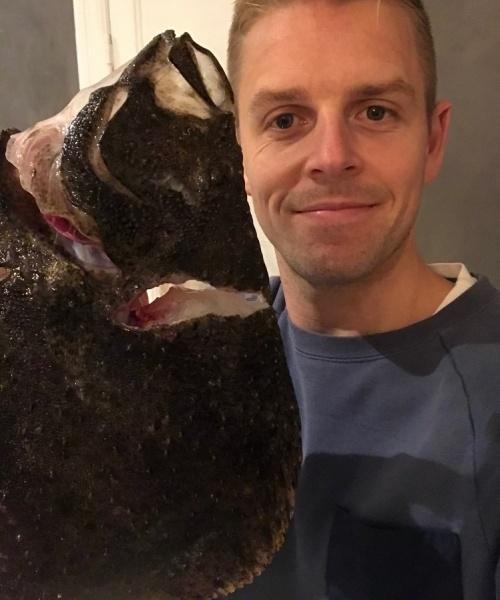 Ising fest – Pighvar fanget af Wejnold ved Nordkysten