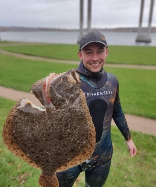 Personlig Rekord – Pighvar fanget af danielvisgaard ved Sydfyn
