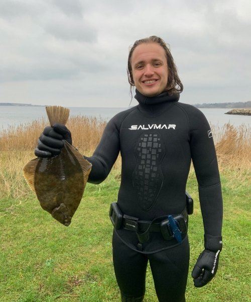 Skrubbe fanget af jacob-thomson ved Isefjorden
