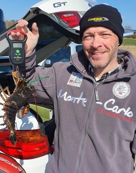 Fin hummer – Hummer fanget af Peter Olsen ved Limfjorden