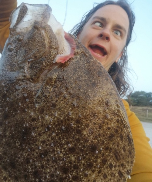 Masser liv – Pighvar fanget af BirdHellmannChristofferChristoffer ved Nordkysten