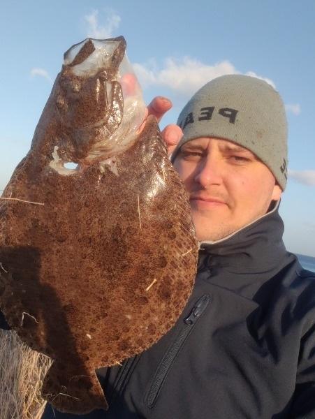Fin hvar – Slethvarre fanget af samuel-bering ved langeland
