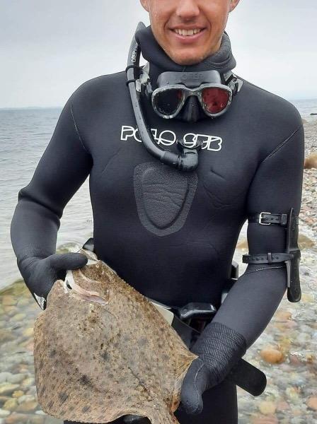 Pighvar fanget af CarlMarcker ved Ærø