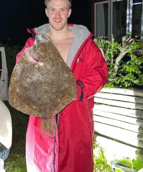 Pighvar fanget af jacob-buus