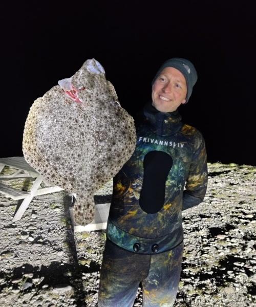 Pighvar fanget af UveJagt ved Klintebjerg