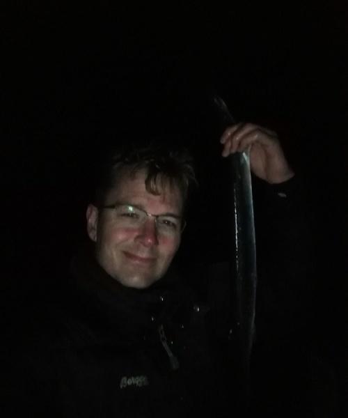 Hornfisk fanget af Mott ved Nordkysten