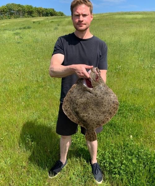 God sigt – Pighvar fanget af AndreasToft ved Djursland