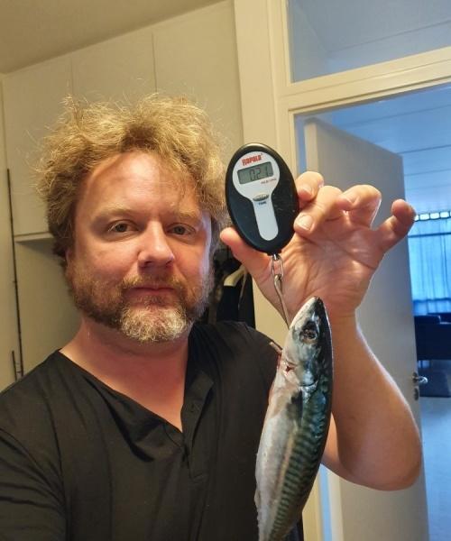 Dejlig morgen – Makrel fanget af Jesper Nordin ved Hanstholm