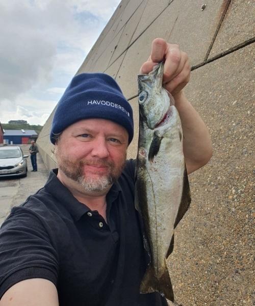 Gode forhold – Lubbe fanget af Jesper Nordin ved Hanstholm