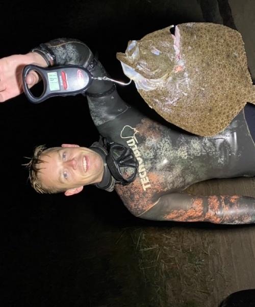 Pighvar fanget af Wejnold