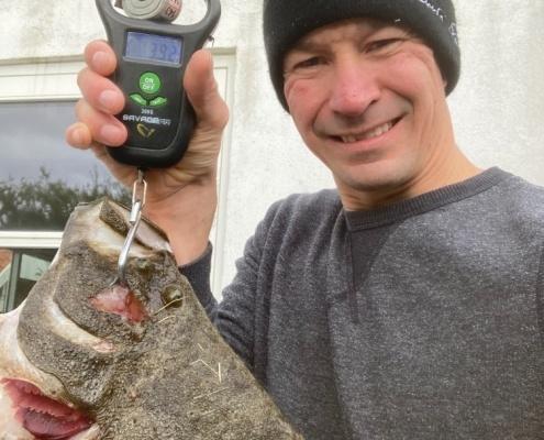 Hø jagt – Pighvar fanget af nicolaikjaer ved Fyn